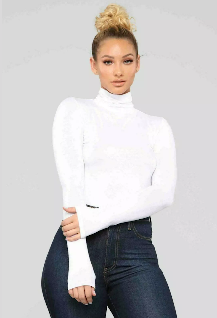 Polo Neck - Jersey Top
