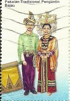 DUNIA SETEM : Setem Pakaian Tradisional pengantin 2009.