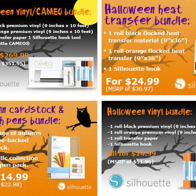 Silhouette Halloween Party Bundles & Promo Code