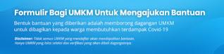 Cara Daftar KTBS In BorongUMKM, Bansos Pandemi Dari Kitabisa Com Agar Dagangan Diborong