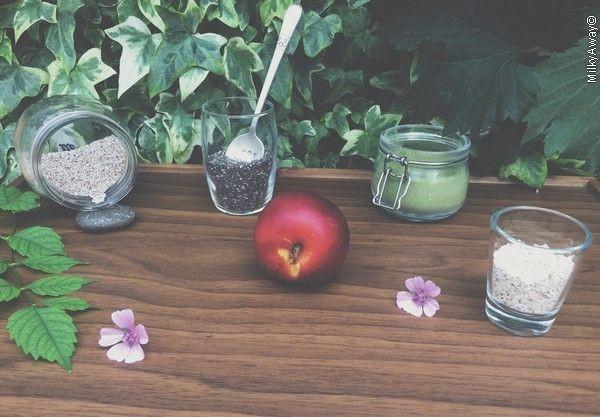 Recette pudding de graines de chia et nectarine Markal