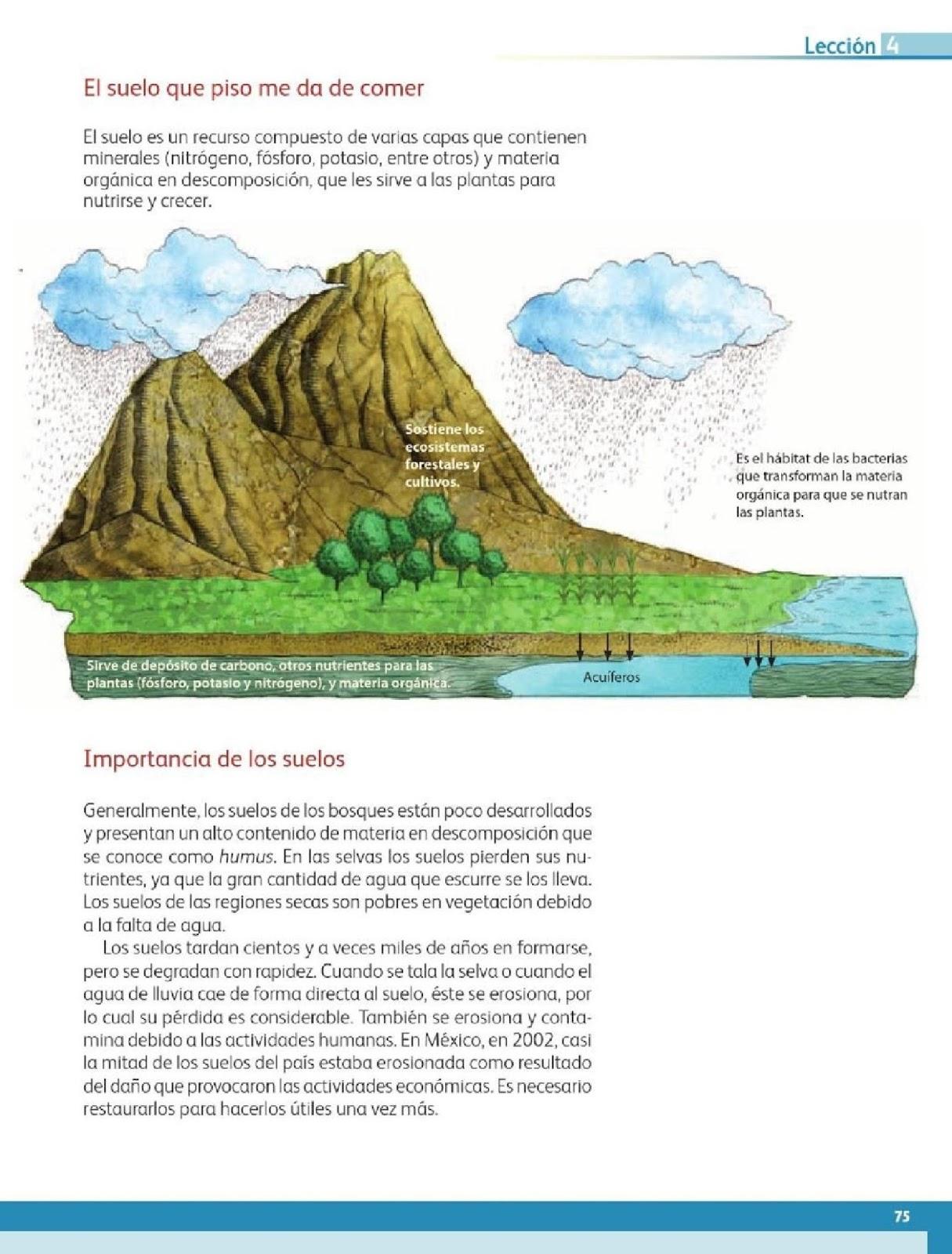 Geografia Libro Cuarto Grado Bloque 2