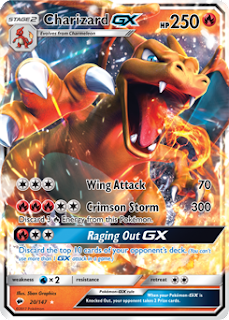Charizard GX Burning Shadows Pokemon Card