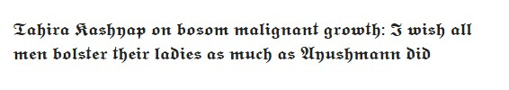 Tahira Kashyap on bosom malignant growth: I wish all men bolster their ladies as much as Ayushmann did