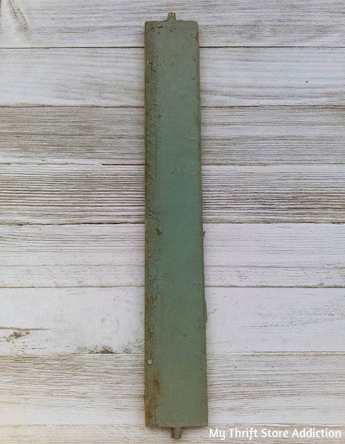 Vintage shutter slat