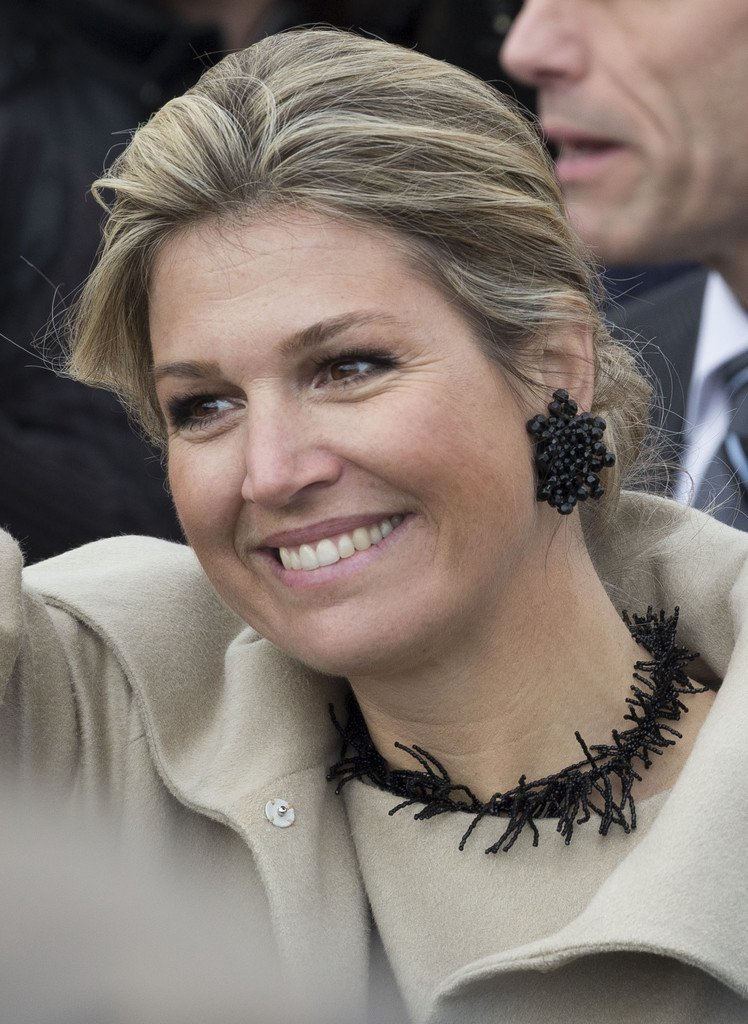 Queen Maxima Opens Money Week 2015 Newmyroyals