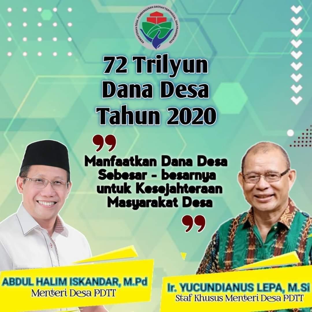 Pembangunan Daerah Tertinggal dan Transmigrasi  Prioritas Penggunaan Dana Desa Tahun 2021