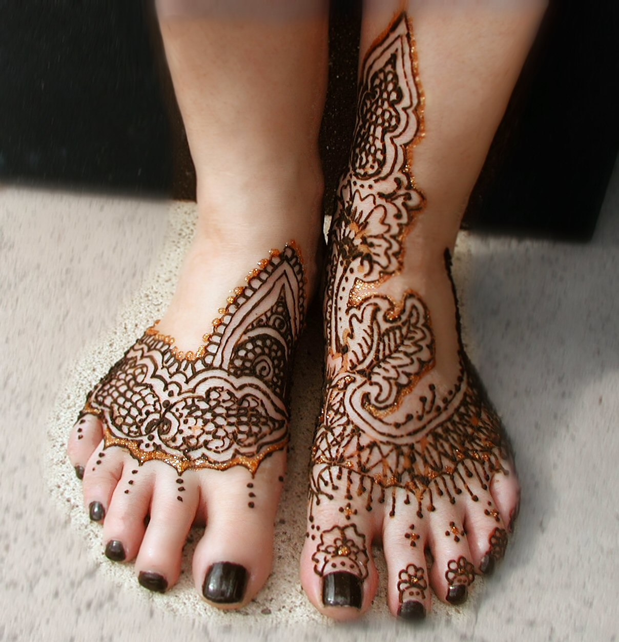 Henna Tattoo On Foot: Verve Evolving: March 2013