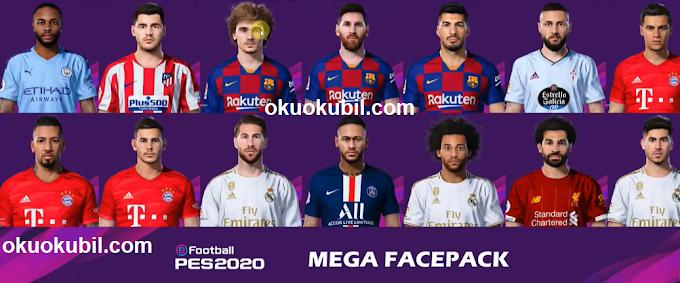 PES 2020 (PC) Gerçek Futbolcu Yüzleri Yaması Kurulumu Kolay İndir