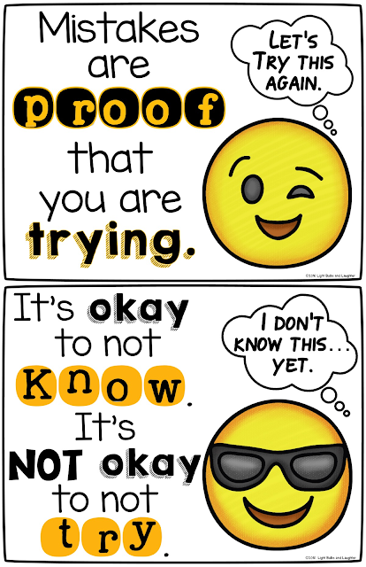 Metacognition: get your students thinking about their thinking!  Light Bulbs and Laughter blog