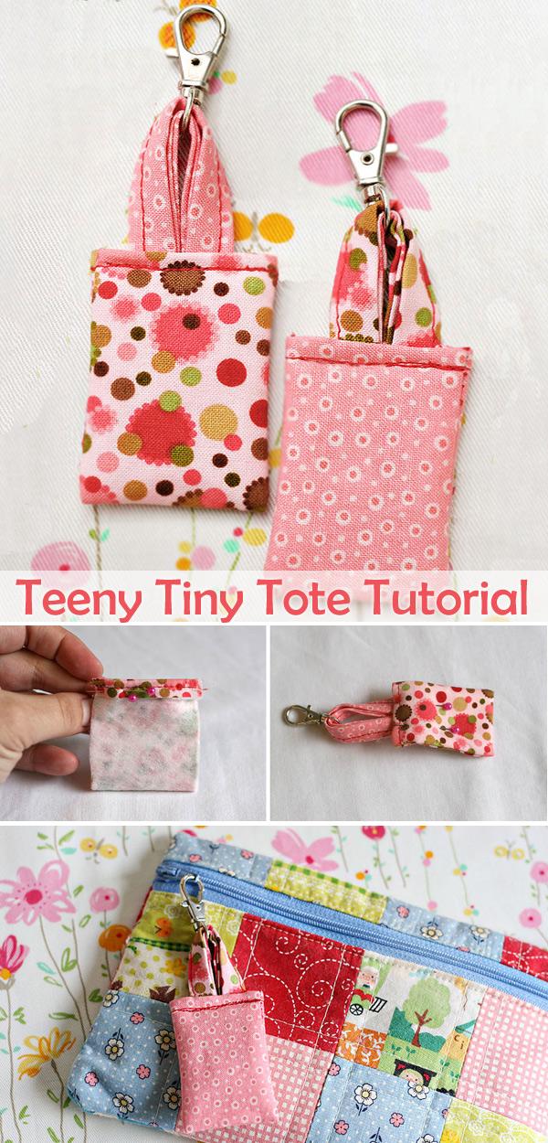 Teeny Tiny Tote Tutorial