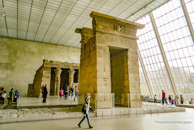 Templo de Dendur, Museu Metroplolitan, Nova York