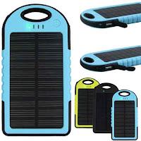 89k - Pin sạc dự phòng Năng lượng mặt trời Solar 5.000mAh giá sỉ và lẻ rẻ nhất