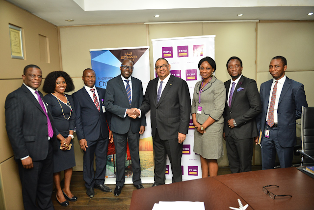 FCMB partners Etihad, secures unbeatable travel fares for its customers
