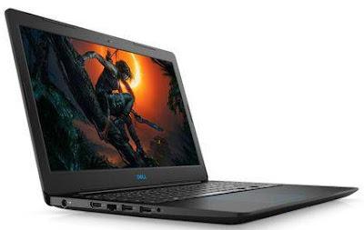 Notebook Dell i7 8GB 1TB placa de video 4GB