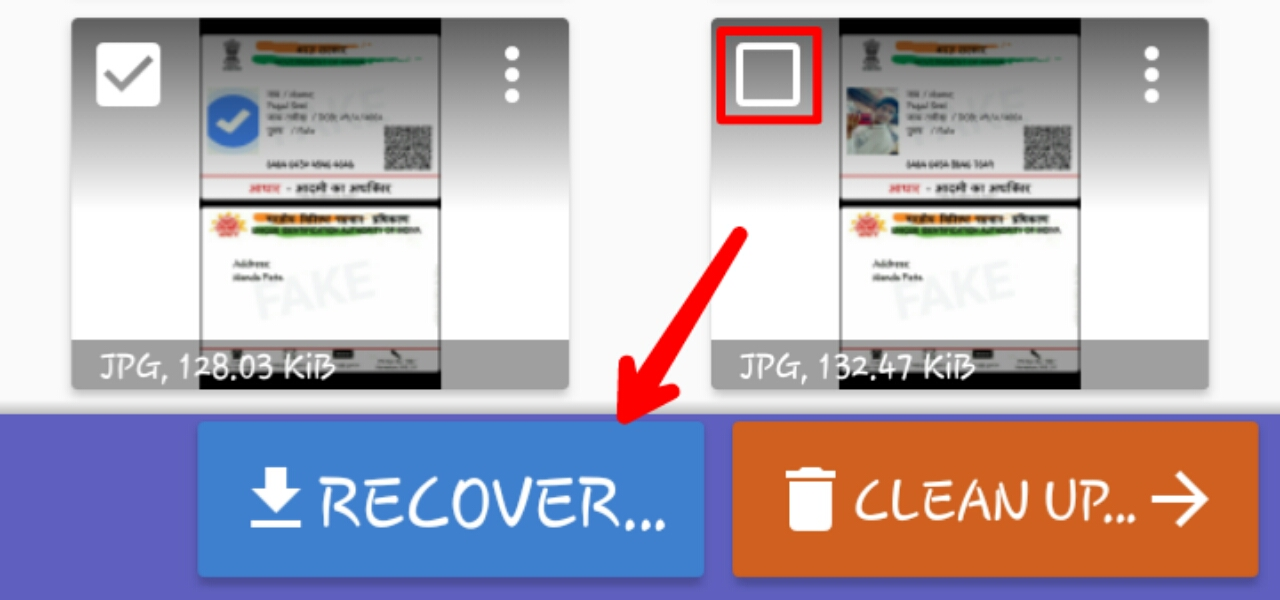 Recover you deleted photo from your smartphone