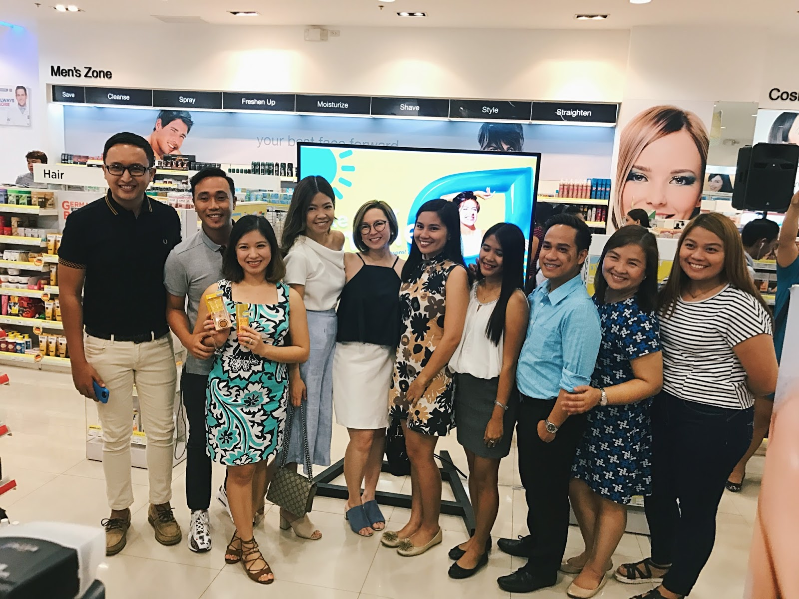 Watsons SM Lanang Premier for Watsons Make Your Summer Event
