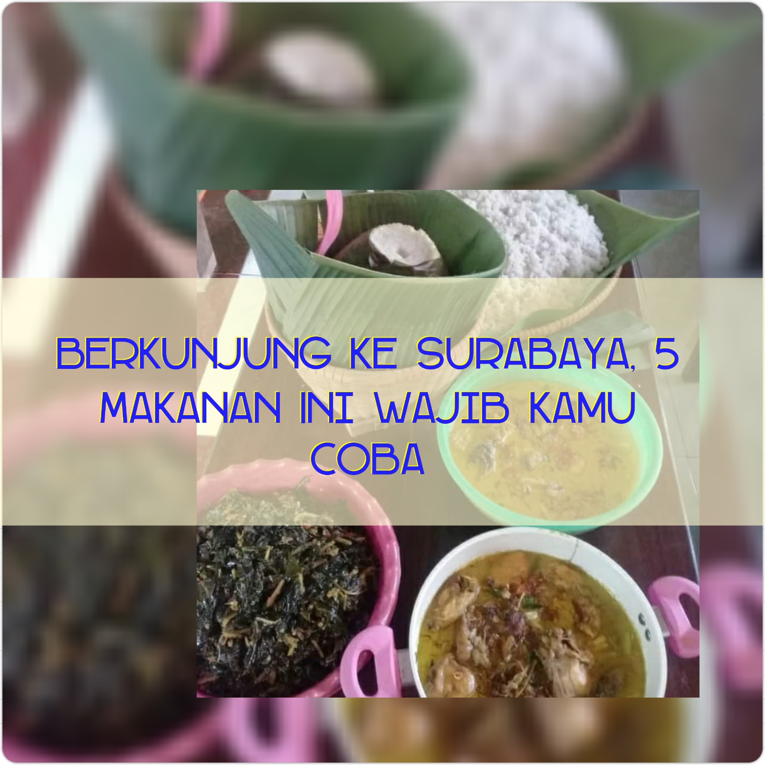Makanan Khas Surabaya, Rawon, Spikoe, Spiku
