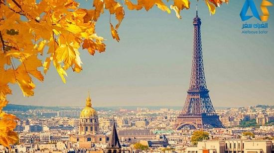 برج ایفل در شهر پاریس فرانسه