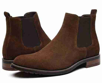 Men's Chelsea Boots Leather Dress Formal Thursday Capital  Boots for Man