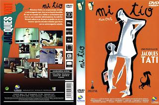 Carátula: Mi tío (1958) Mon oncle