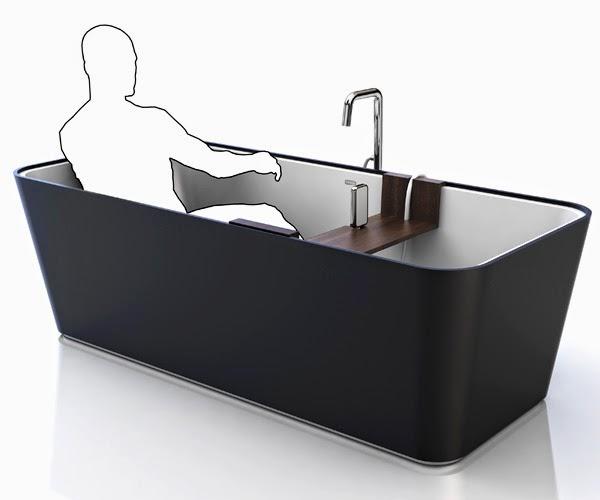 Banheira com pranchas removíveis