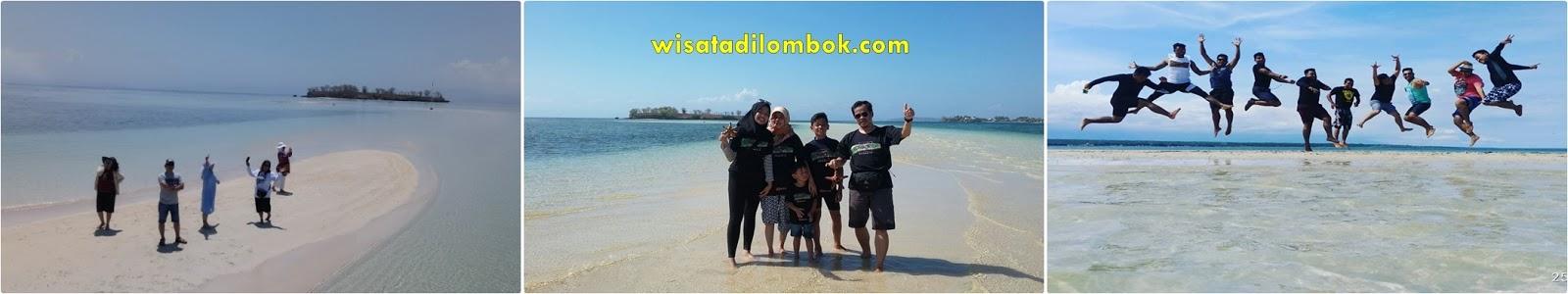Tour Sehari Pantai Pink Lombok