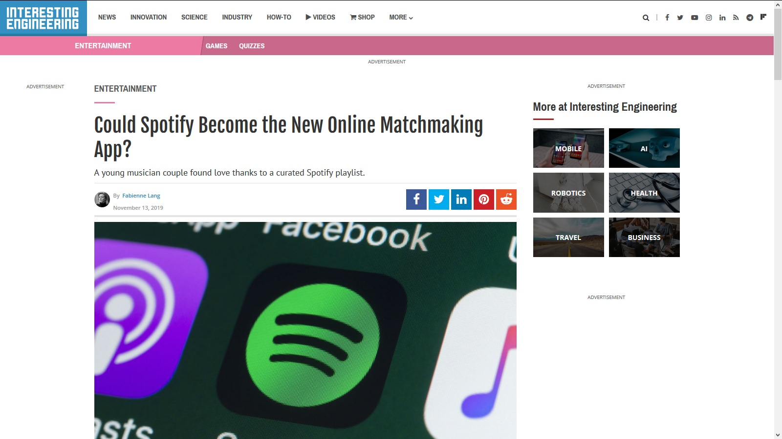 Web matchmaking nas