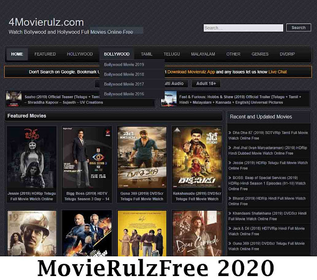 Movierulz Free 2020: Bollywood Hollywood Full Movies Download