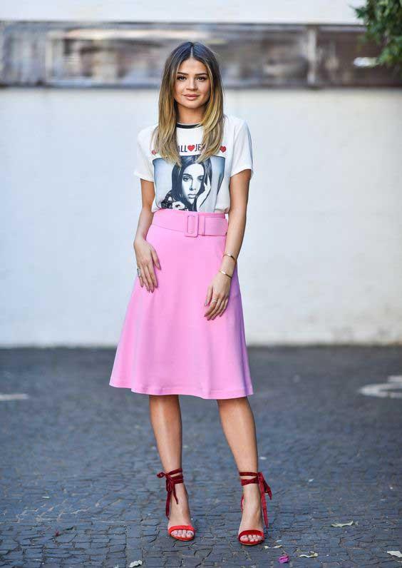 Ideias de looks em tons de rosa para o verão
