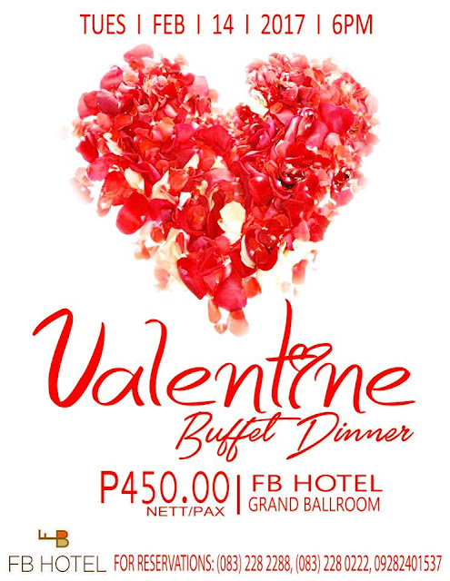 Valentine Buffet Dinner at FB Hotel
