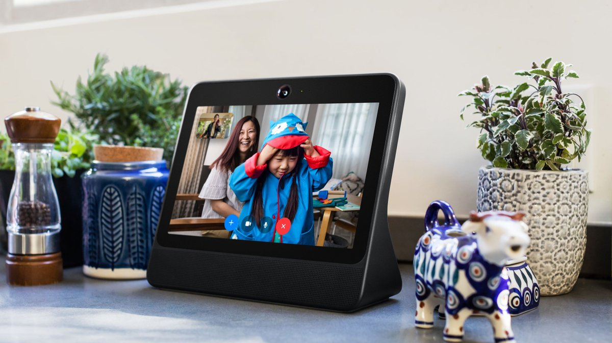 Facebook launches home calling devices, can be used like digital frame