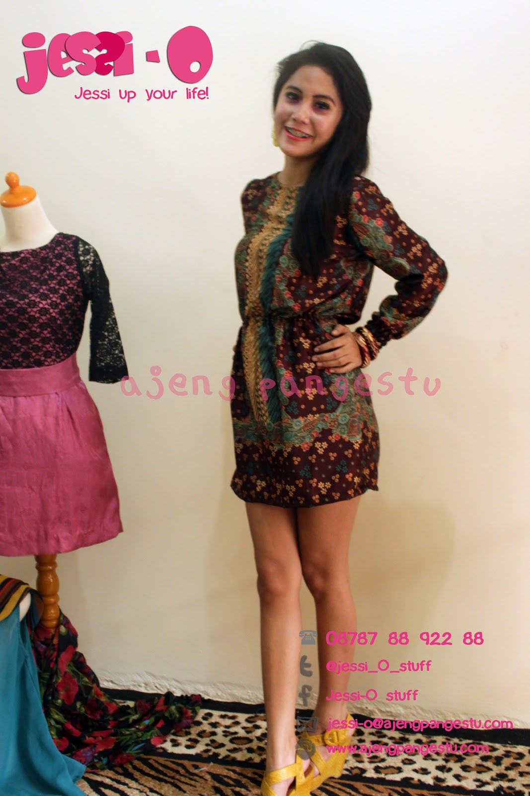 Dress Batik Gugusdepan Pramuka