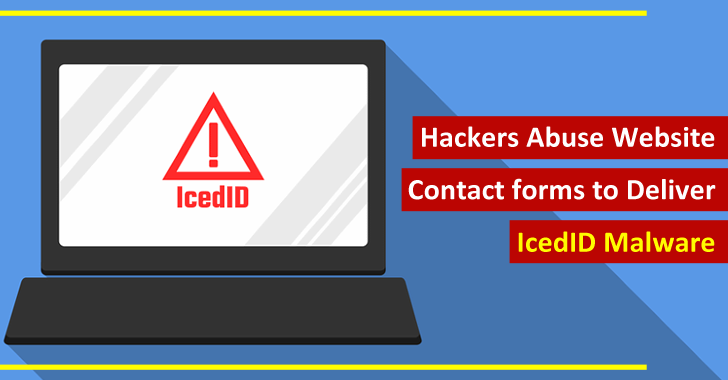 Hackers Abuse Website Contact Forms To Deliver Sophisticated IcedID Malware