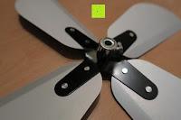 Propeller: Andrew James 40cm Standventilator mit Chromfinish – 60 Watt Motor, Verstellbare Höhe, 3 Geschwindigkeitseinstellungen, verstellbare Neigung und Schwenkfunktion + Hochbeanspruchbar – 2 Jahre Garantie