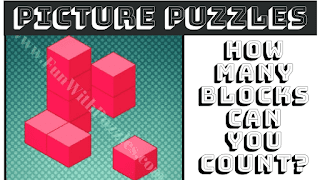 How many cubes can you count in this puzzle image?