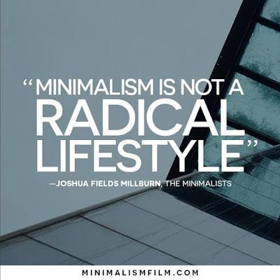 le minimalisme, un mode de vie