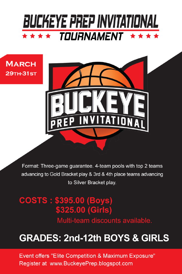 2019 Buckeye Prep Invitational Tournament Information Page