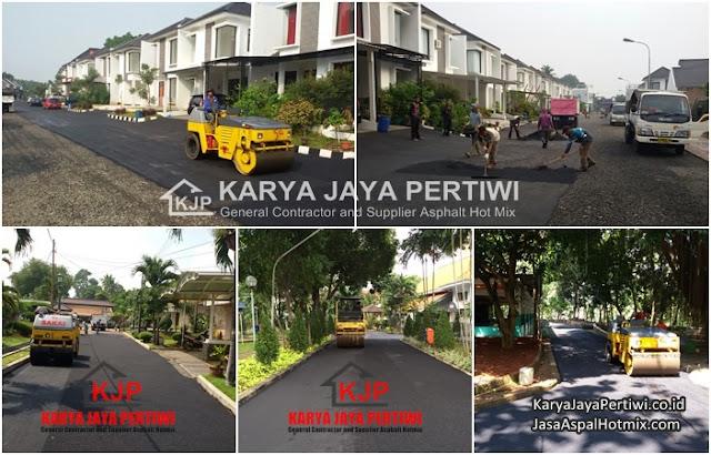 Jasa Pengaspalan Cibubur Jawa Barat, Kontraktor Pengaspalan Cibubur, Kontraktor Aspal Hotmix Cibubur