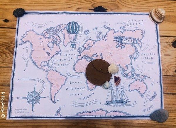 Pochette ronde à trésors
