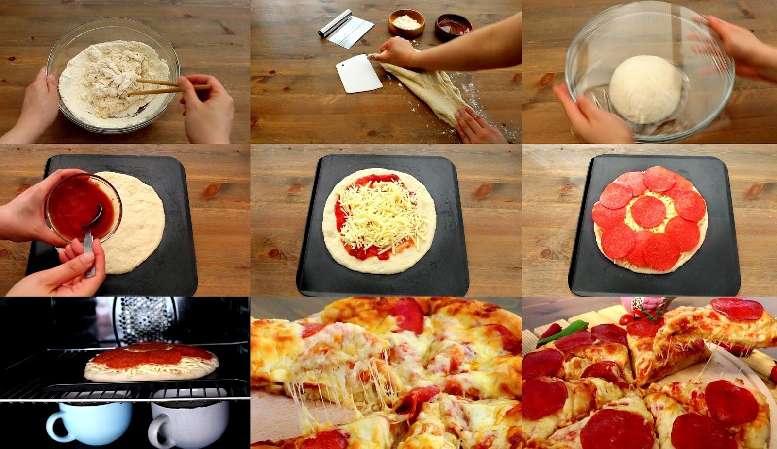 Josephine S Recipes Homemade Pepperoni Pizza