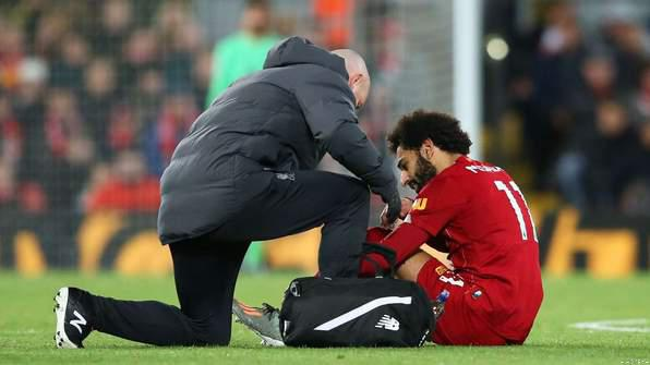 Salah Withdraws from Egypt Squad Due to Ankle Injury