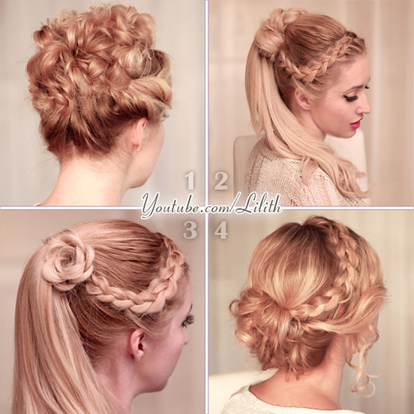 Lilith Moon Prom Wedding Hairstyles For Medium Long Hair