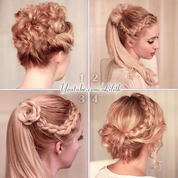 Lilith Moon Prom Wedding Hairstyles For Medium Long Hair
