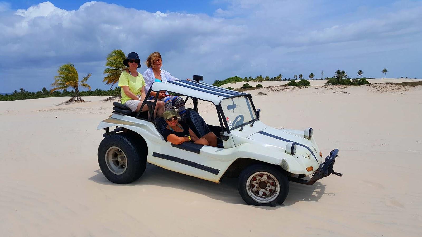 Passeio de buggy em Mangue Seco,bate e volta de Aracaju.