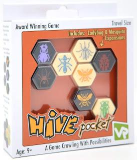 Hive Pocket el juego de tablero