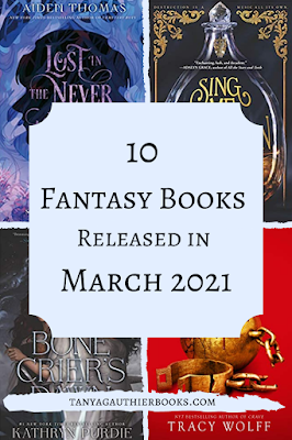 10 Fantasy Books Released in March 2021