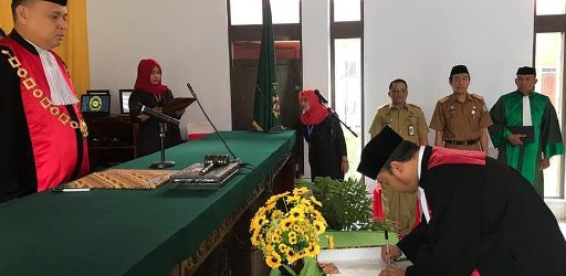 Mochammad Faktur Rochman SH. MH, Dilantik Jadi Wakil Ketua PN. Selayar