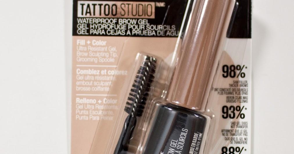 Warpaint And Unicorns Maybelline Tattoo Studio Brow Gel In Blonde