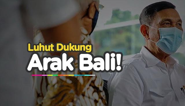 Arak Bali Disebut Mampu Menurunkan Angka Penderita Covid-19, Luhut: Saya Dukung Saja Lah!